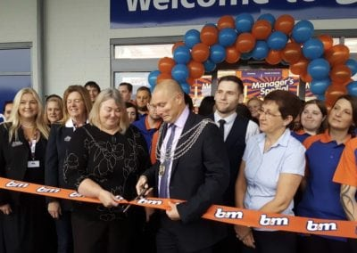 Fundraise - B&M Grand Opening